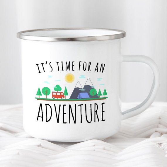 It's Time For An Adventure Mug