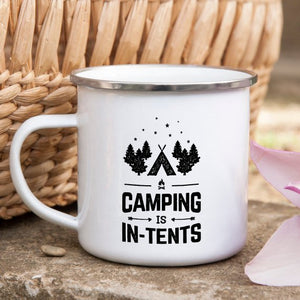 Camping Is In-Tents Coffee Mug