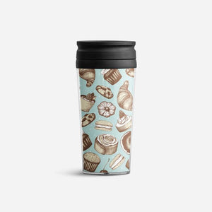 Insulated Travel Mug Duo - Cupcakes
