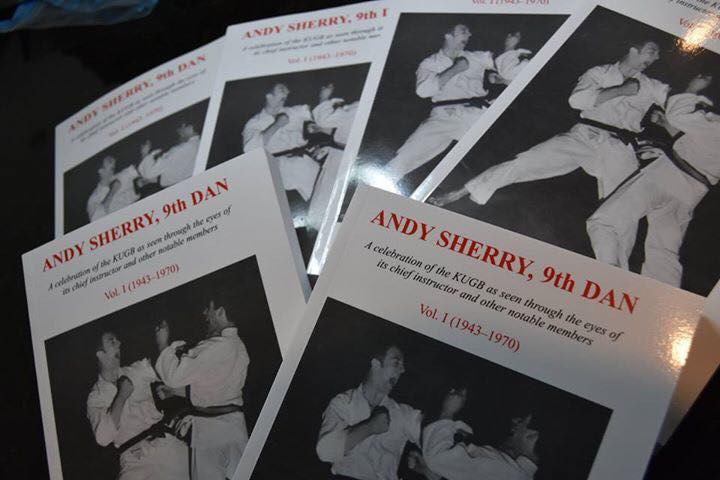 Andy Sherry, 9th Dan Vol 1 - Dr Clive Layton