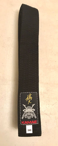 Kamae Cotton Black Belt