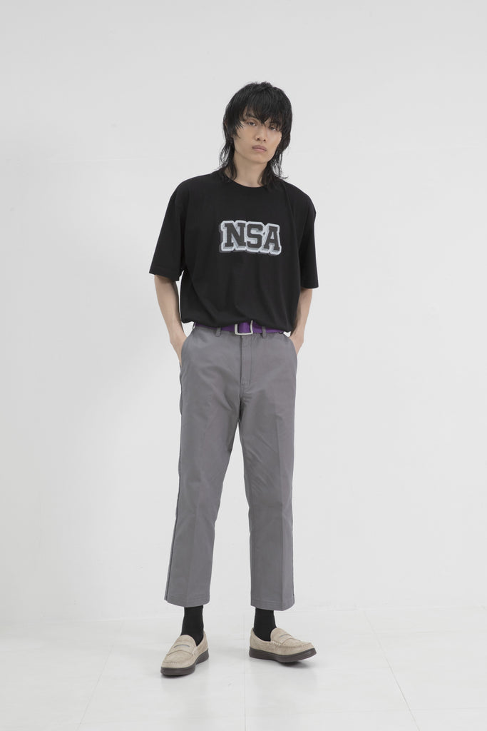 Not So Ape NSA Varsity Tee in Black
