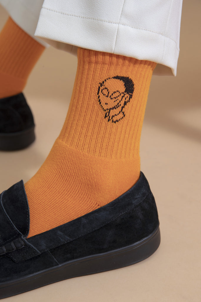 Not So Ape Alien Socks