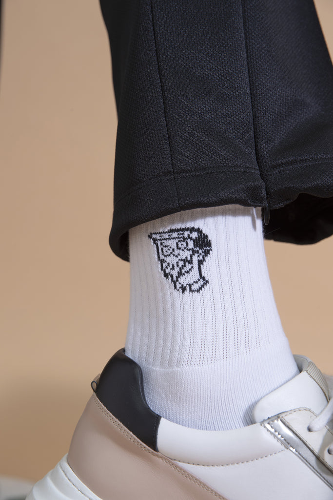 Not So Ape Pizza Socks