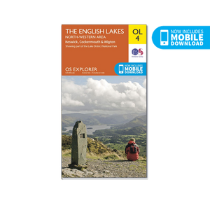 OS Map The Lake District North-West - OL4