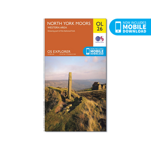 OS Map North York Moors - OL26