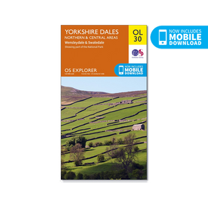 OS Map Yorkshire Dales - OL30