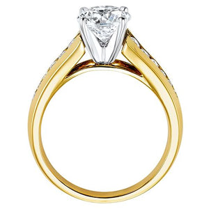 DIAMOND SOLITAIRE ENGAGEMENT RING RG58566