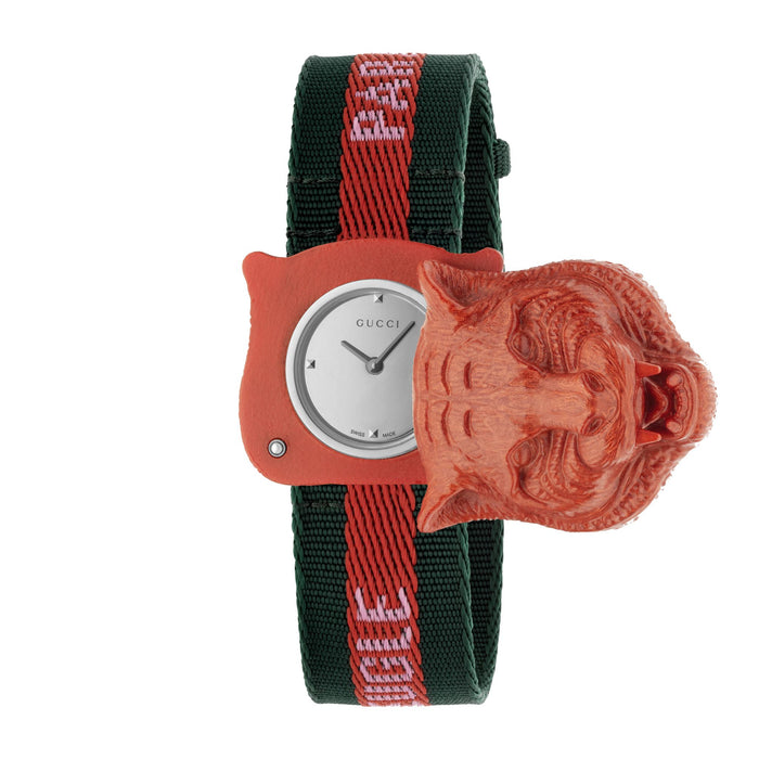 SECRET WATCH NYLON RED