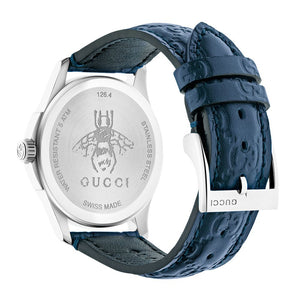G-TIMELESS LEATHER BLUE