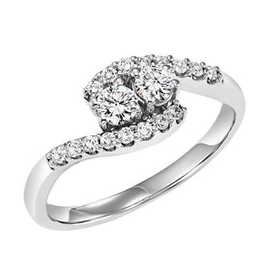 TWOGETHER DIAMOND RING TWO3002/50