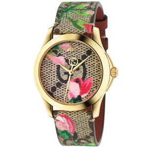 G-TIMELESS CANVAS FLORAL PRINT