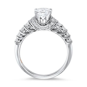DIAMOND SOLITAIRE ENGAGEMENT RING RG58511