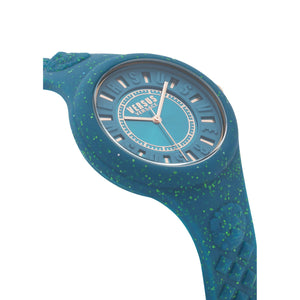 GREEN FIRE ISLAND GLITTER WATCH