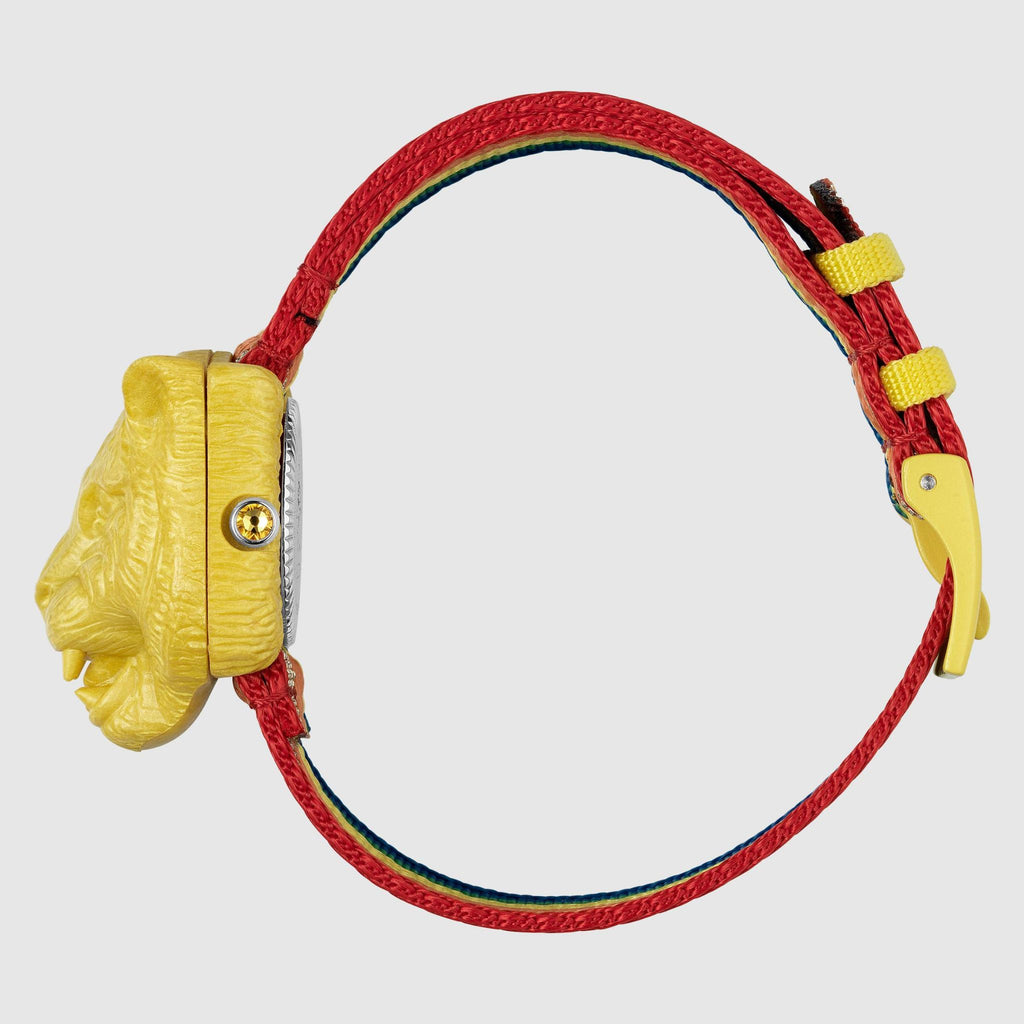 SECRET WATCH NYLON YELLOW