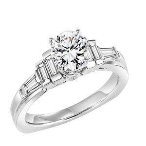 DIAMOND SOLITAIRE WEDDING SET BY NIKI J NVS7054E/W