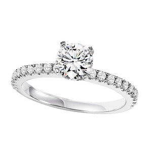 EXQUISITE COLLECTION: DIAMOND SOLITAIRE WEDDING SET WB5836E/W