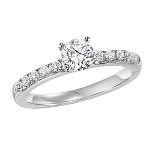 EXQUISITE COLLECTION: DIAMOND SOLITAIRE ENGAGEMENT RING WB5559E