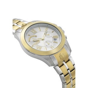 TWO-TONED CHRONO LION WATCH