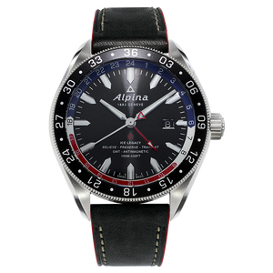 ALPINER 4 GMT BUSINESS HOURS AL-550GRN5AQ6