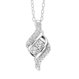 TWOGETHER DIAMOND PENDANT TWO1033/50