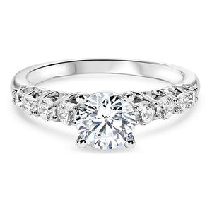 DIAMOND SOLITAIRE ENGAGEMENT RING RG58506
