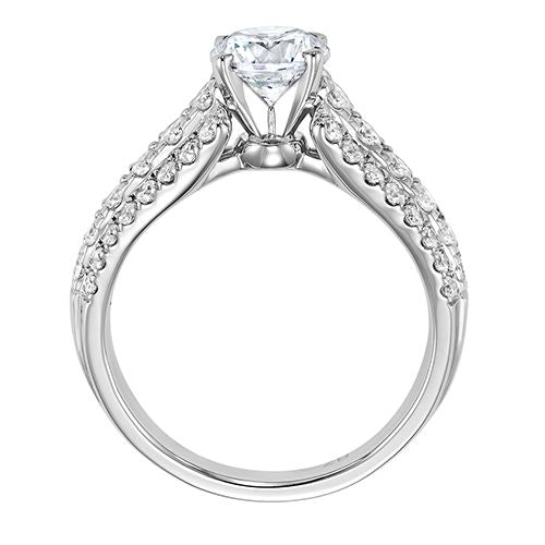DIAMOND SOLITAIRE ENGAGEMENT RING RG58512