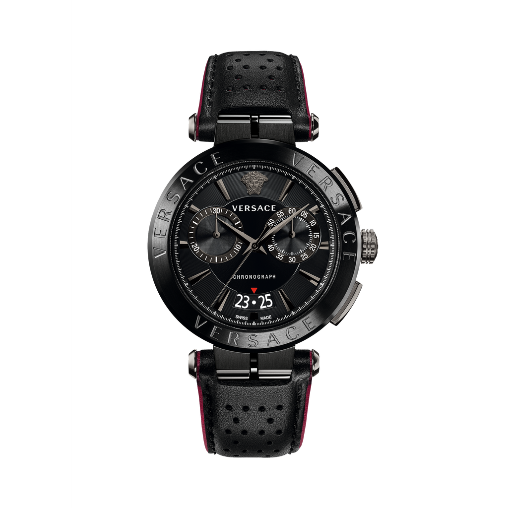 bc28ee2d1f BLACK AION CHRONO WATCH