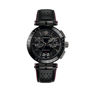 BLACK AION CHRONO WATCH - XSJewelers