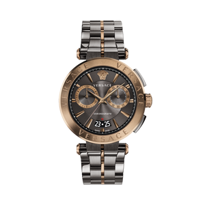 BRONZE/GRAY AION CHRONO WATCH - XSJewelers