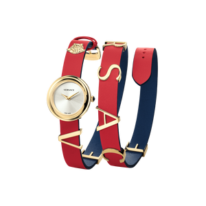 RED BLUE V-FLARE WATCH