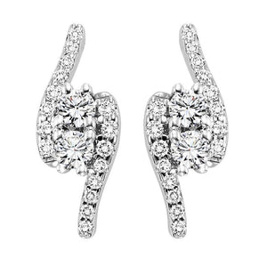 TWOGETHER DIAMOND EARRINGS TWO2002/50
