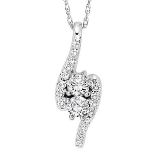 TWOGETHER DIAMOND PENDANT TWO1002/50