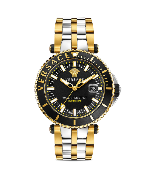 V-RACE DIVER TWO TONE 46MM WATCH - XSJewelers