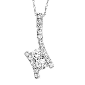 TWOGETHER DIAMOND PENDANT TWO1001/50