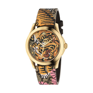 LE MARCHE DE MERVEILLES LEATHER TIGER