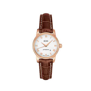 LADY LEATHER BARONCELLI AUTO WHITE ROSE