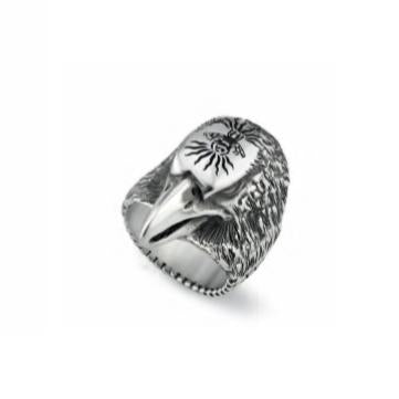 GUCCI SILVER EAGLE RING