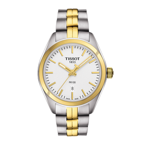 LADY TWO TONE STEEL PR 100 WHITE FACE - XSJewelers