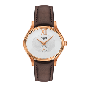 BROWN LEATHER BELLA ORA WHITE FACE - XSJewelers