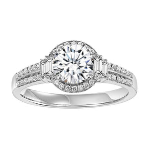 ELEGANCE COLLECTION: DIAMOND HALO ENGAGEMENT RING WB5930E
