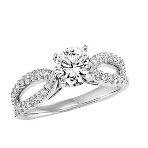 DIAMOND SOLITAIRE WEDDING SET BY NIKI J NVS7088E/W