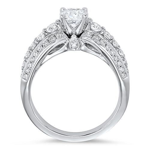 DIAMOND SOLITAIRE ENGAGEMENT RING RG58490