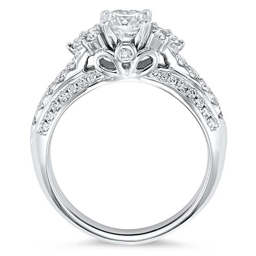 THREE STONE DIAMOND ENGAGEMENT RING RG58482