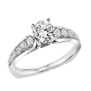 DIAMOND SOLITAIRE WEDDING SET BY NIKI J NVS7086E/W