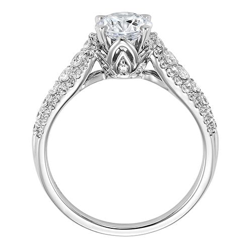 DIAMOND SOLITAIRE ENGAGEMENT RING RG58519