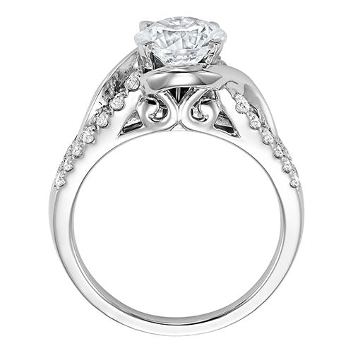 DIAMOND SOLITAIRE ENGAGEMENT RING RG54785