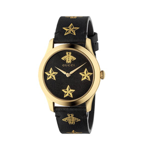 G-TIMELESS LEATHER BEE AND STAR