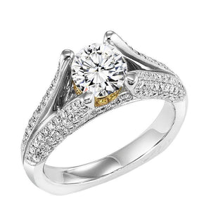 DIAMOND SOLITAIRE WEDDING SET BY NIKI J NVS7062E/W