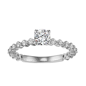 EXQUISITE COLLECTION: DIAMOND SOLITAIRE WEDDING SET WB5866E/W